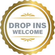 Sherhill Construction's Drop Ins Welcome Badge