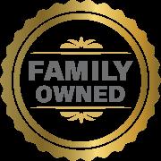 Sherhill Construction's Family Owned Badge