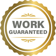 Sherhill Construction's Work Guaranteed Badge